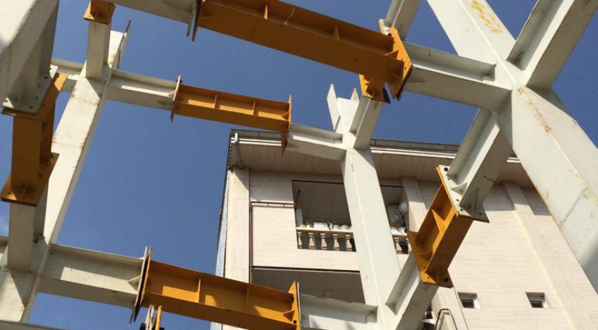 ساخت اسکلت فلزی سازه – سازه فلزی